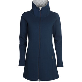 Elkline Blossom Sweat Coat Women, blueshadow